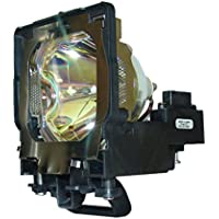 AuraBeam Economy Sanyo PLC-XF47 Projector Replacement Lamp with Housing