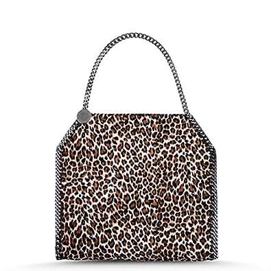 Amazon.com: Stella McCartney – FALABELLA Eco Leopardo Bolsa ...