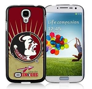 Colorful Samsung Galaxy S4 I9500 Case Ncaa Florida State Seminoles Team Logo Phone Protective Cover