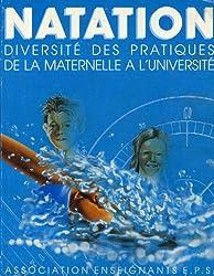 Natation : Diversité des pratiques de la maternelle à l'université