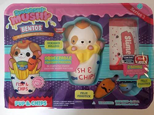 Smooshy Mushy Bentos Box Collectible Figure - Benjamin Bulldog