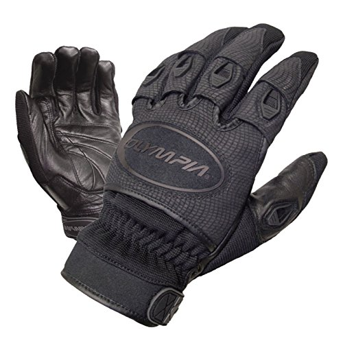 Olympia Sports Men's Ventor Gloves (Black, X-Large)