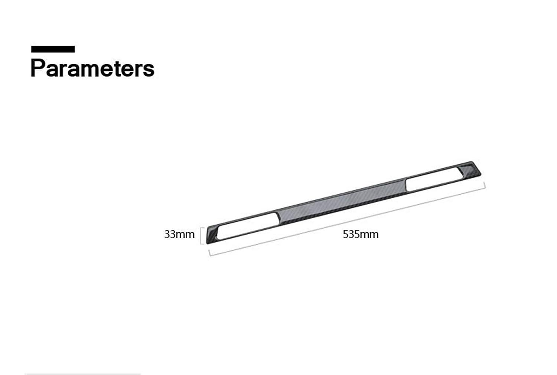 Classic Carbon Fiber Glove Box Water Cup Holder Frame Decal Cover Trim for BMW 3 Series 5th E90 E91 E92 E93 315 318 320 323 325 328 2005-2013 9TT