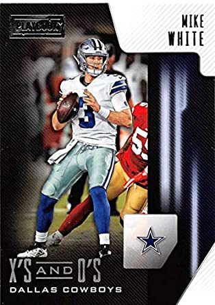 9037e557509 2018 Panini Playbook Xs and Os #20 Mike White Dallas Cowboys RC Rookie NFL  Football
