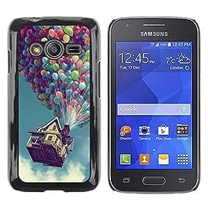 iKiki Tech / Estuche rígido - Hasta Globo Casa - Samsung Galaxy Ace 4