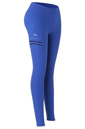 Naffta Paddle-Tennis - Pantalón Pitillo para Mujer, Color Azul ...