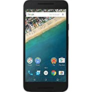 LG Nexus 5X Unlocked Smartphone with 5.2-Inch 32GB H790 4G LTE (Carbon Black) (Certified Refurbished)