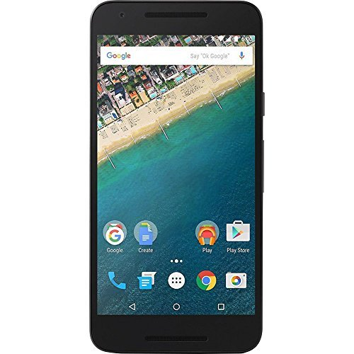 LG Nexus 5X Unlocked Smartphone with 5.2-Inch 32GB H790 4G LTE (Carbon Black) (Renewed)