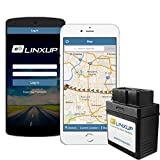 Linxup OBD GPS Tracker with Real Time 3G GPS Tracking, Car Tracking Device and Car Locator, Car GPS LPVAS1