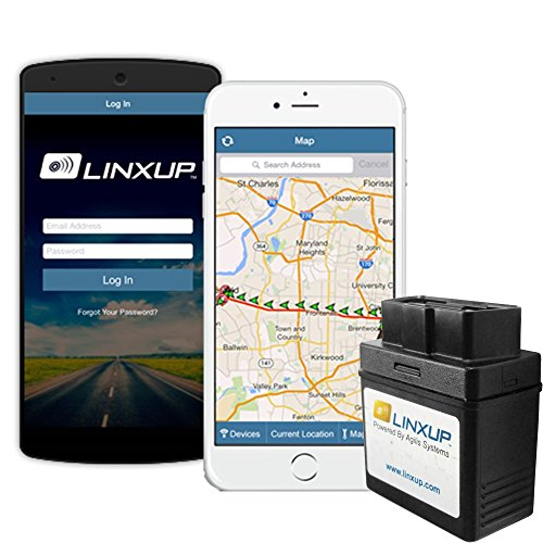 Device Accessories Navigation (Linxup OBD GPS Tracker with Real Time 3G GPS Tracking, Car Tracking Device and Car Locator, Car GPS LPVAS1 - No Contracts)