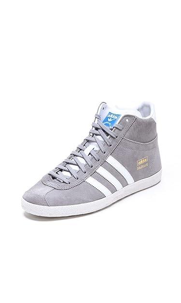 Adidas Originals Gazelle OG Mid EF W, Baskets Mind Homme - Gris (Aluminium)