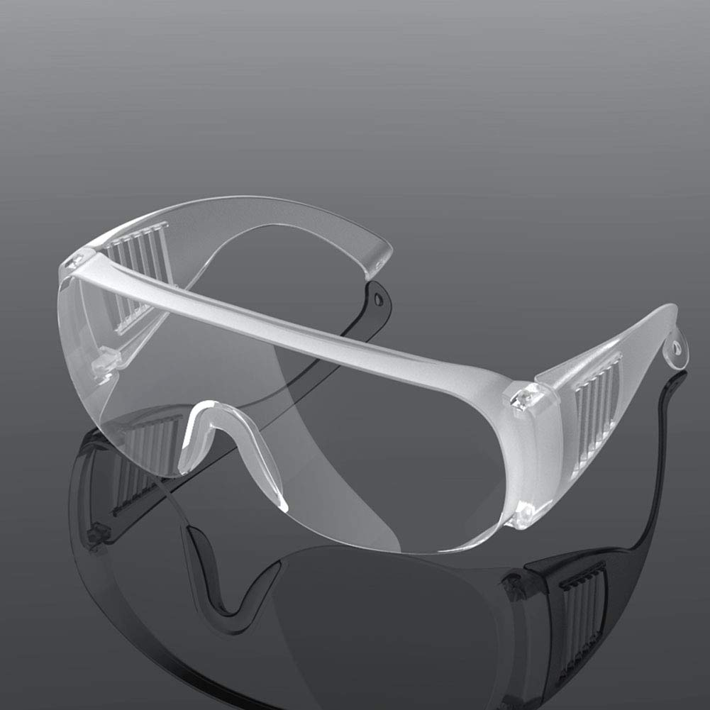 Gafas Protectoras, Gafas Protectoras de Seguridad, Gafas Protectoras Transpirables a Prueba de Polvo para Laboratorio, Agricultura, Industria