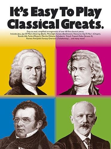 Download It's Easy To Play Classical Greats (It's Easy to Play S.) pdf epub