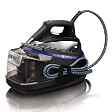 Rowenta Silence Steam Extreme DG8962 Centro de Planchado, autonomía ilimitada, 7.3 bares, golpe vapor 460 g/m , silencioso, nivel de ruido 55 dB, suela Microsteam Laser 400