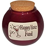 Money Hand Crafted Word Jar...The Original Word Jar (Happy Hour Fund)