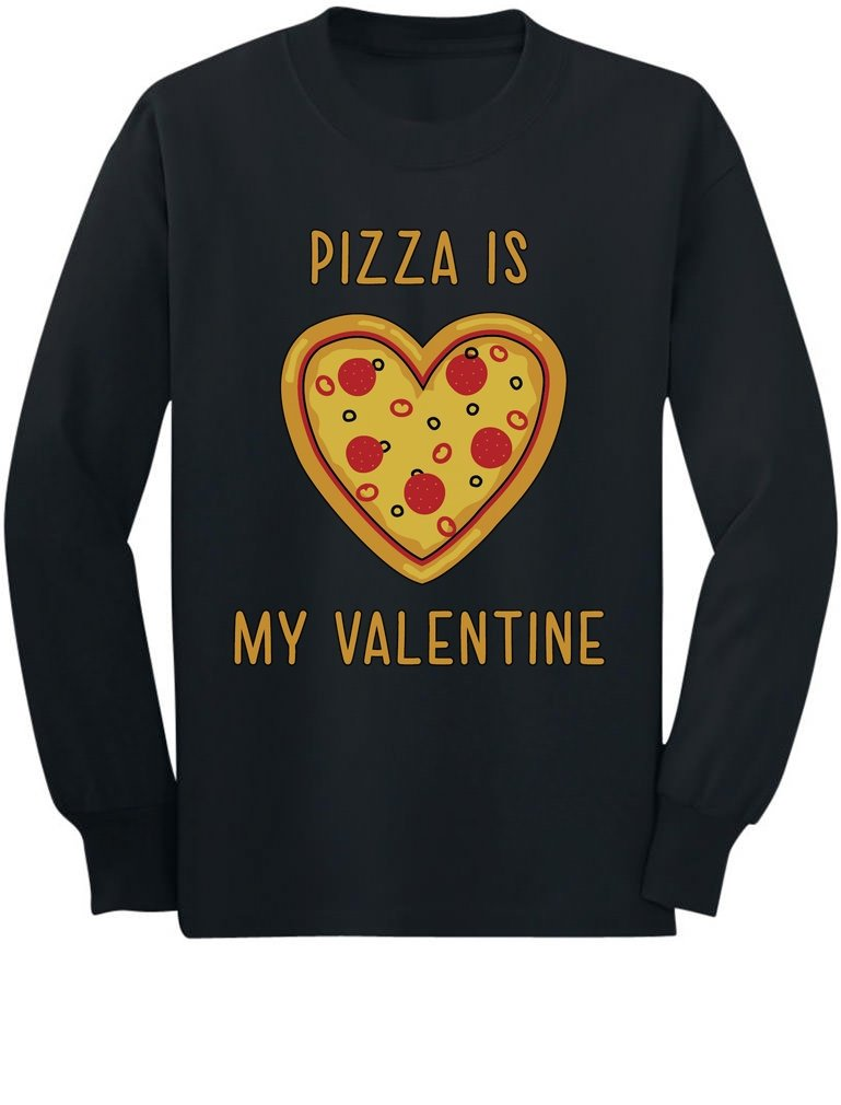 Pizza Is My Valentine Gift For Pizza Lovers T Shirt