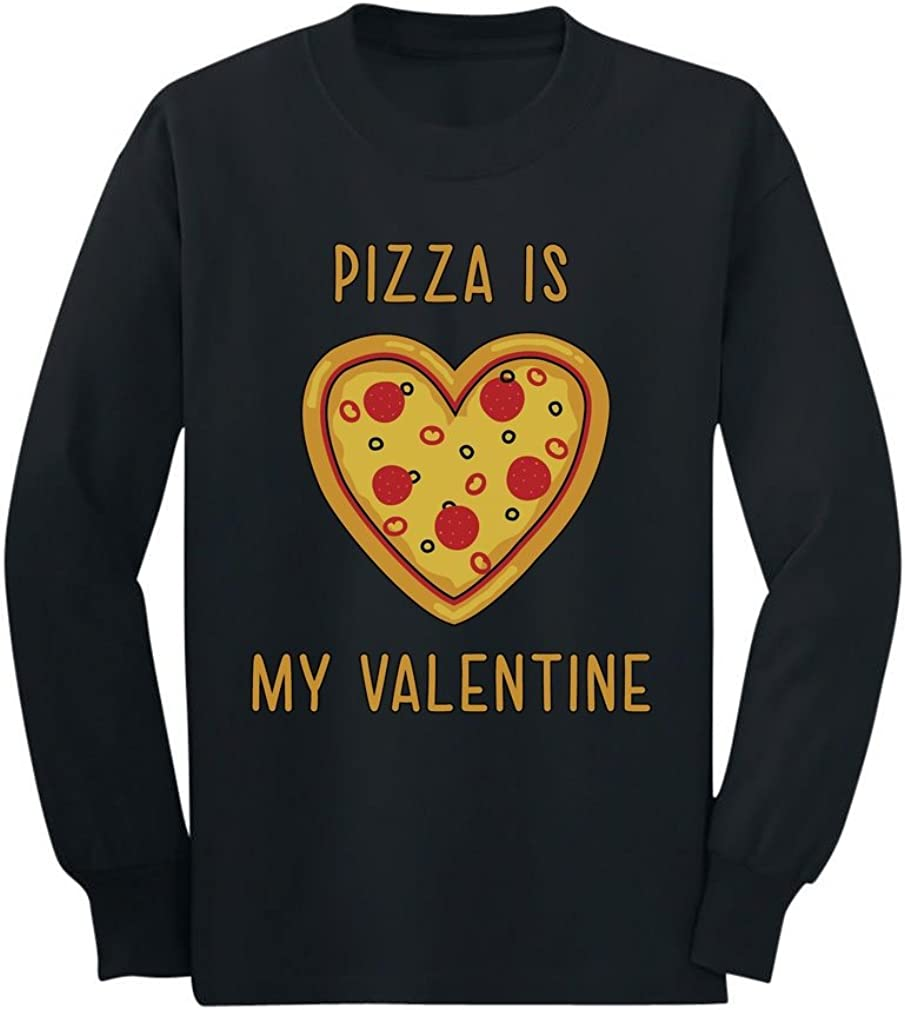 Pizza is My Valentine for Pizza Lovers Youth Kids T-Shirt