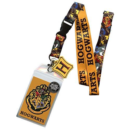 Lanyard Universal (Bioworld Harry Potter Hogwarts House Crests Lanyard)