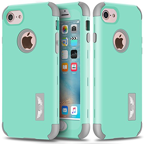iPhone 6 Plus Case, iPhone 6s Plus Case, Asstar Three Layer Hard PC + Soft Silicone Impact Protection Heavy Duty Shockproof Full-Body Combo Protective Case for iPhone 6/6s Plus (5.5