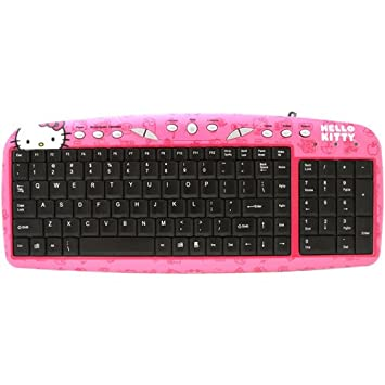 Keyboard Lucu Hello Kitty Terbaru