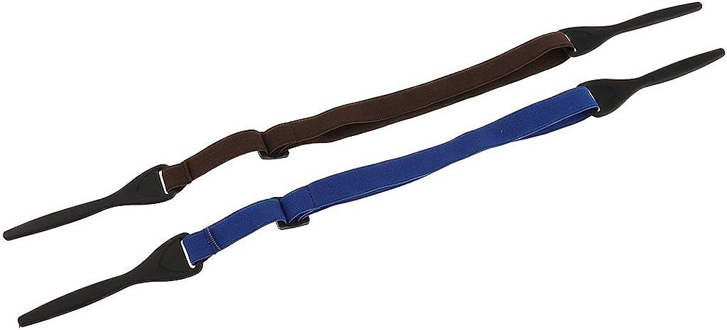 L/änge: Ca Sportbrillenband Gazechimp Elastisches Brillenband Brillenkordel 40cm 2 St/ück in verschiedenen Farben