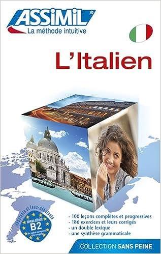 Assimil L Italien Sans Peine Livre Italien A Partir Du
