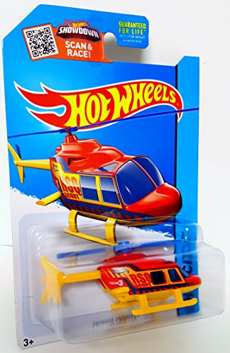Hot Wheels 2015 HW City Propper Chopper Helicopter 52/250, R