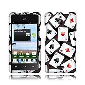 Huawei Ascend Plus Ace Playing Cards Textured Hard Cover