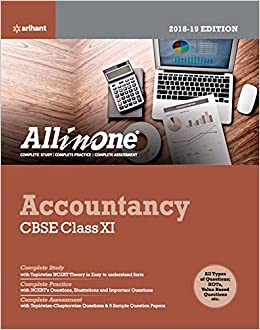 CBSE All In One Accountancy Class 11 for 2018 - 19 Old