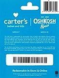Carters/OshKosh B'gosh Gift Card $25