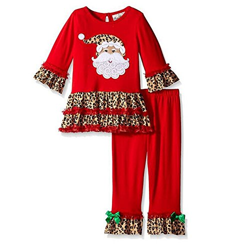 kiddom-little-girls-christmas-costumes-santa-claus-modeling-clothes-set-toppant