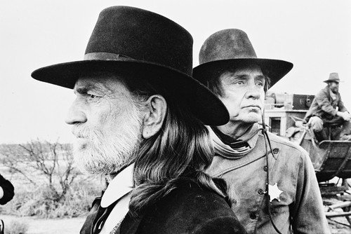 Johnny Cash & Willie Nelson 24x36 Poster Stagecoach TV Movie from Silverscreen