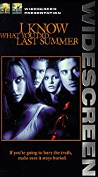 I Know What You Did Last Summer (Widescreen Edition) [Vhs]