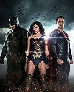 Batman v Superman cast reprint signed autographed 8x10 photo #3 RP