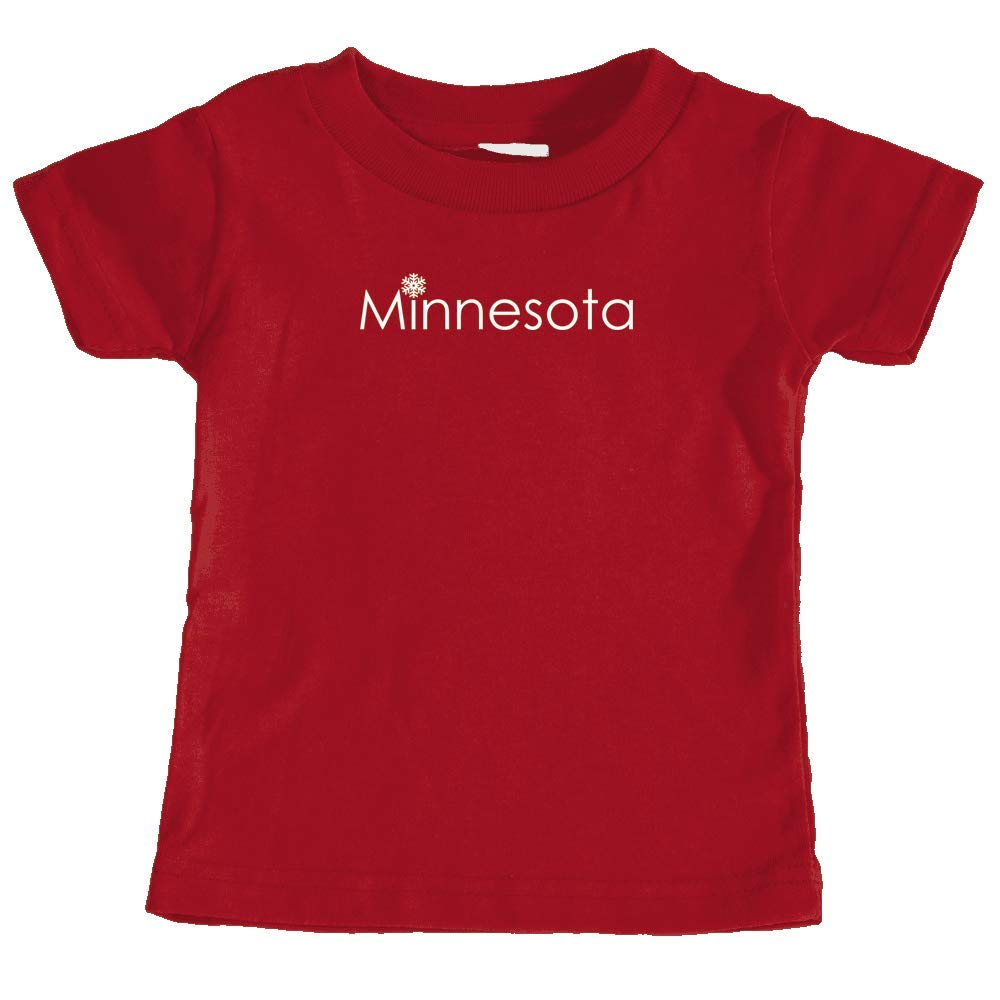 Unisex Infant T-Shirt Minnesota Snowflake