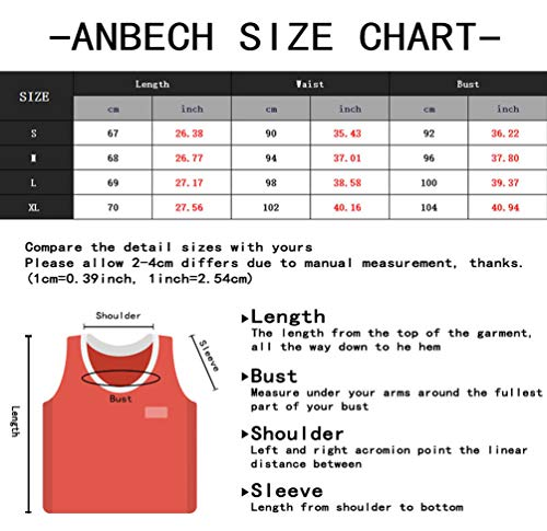 Anbech Womens Life is Better on The Lake Tank Tops Sleeveless Casual Novelty Shirt (M, Gray)