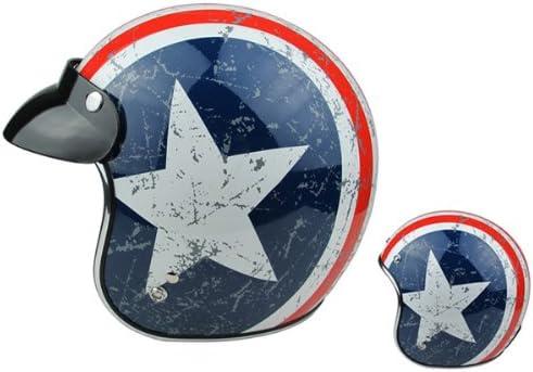 American Captain Harley Half Helmet