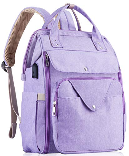 HizGon Diaper Bag Backpack,Large Multifunction Baby Diaper Bags,Large Capacity, Convenient for Storage