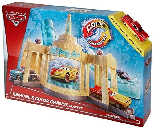 Cars 2015 Mattel Color Changers minicar play set Ramones color change paint shop / change color! MATTEL CARS COLOR CHANGERS RAMONE'S PLAYSET Disney Pixar Disney PIXAR by Mattel