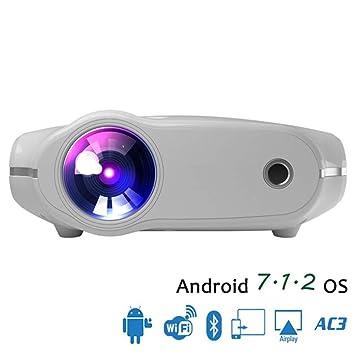 Proyector LED, Mini proyector de 3200 lúmenes, el proyector para ...