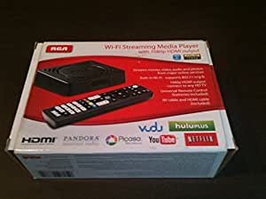 RCA Wi-Fi Streaming Media Player with 1080p HDMI Output - DSB872WR