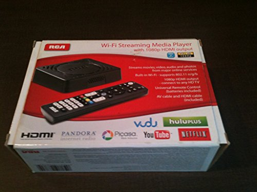 RCA Wi Fi Streaming Player Output