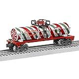 Lionel Christmas Peppermint Tank Car Train