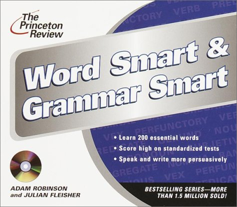 The Princeton Review Word Smart & Grammar Smart CD (The Princeton Review on Audio)