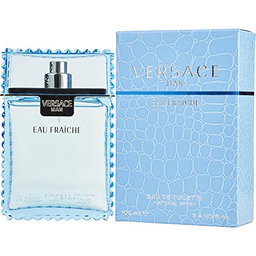 VERSACE MAN EAU FRAICHE by Gianni Versace EDT SPRAY 3.3 OZ for MEN ---(Package Of 4) by Versace (Image #2)