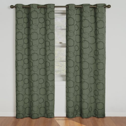 (Eclipse Blackout Curtains for Bedroom - Meridian 42
