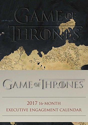 2017 Executive Calendar - Game of Thrones 2016-2017 16-Month Executive Engagement Calendar
