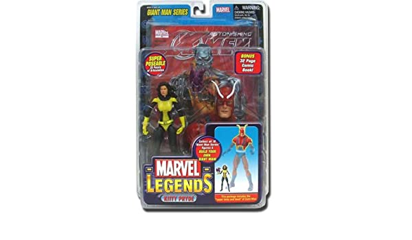 Marvel Legends Giant Man Series - Kitty Pryde Figure (Wal-Mart Exclusive) by Toy Biz: Amazon.es: Juguetes y juegos