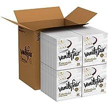 Vanity Fair Entertain Dinner Napkins, 960 Count Paper Napkins (24 Packs of 40 Napkins)