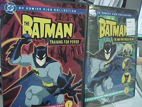 The Batman : Season 1 Volume 1 and Season 1 Volume 2 : Training for Power & the Man Who Would Be Bat ; Batman 2 Pack Collection